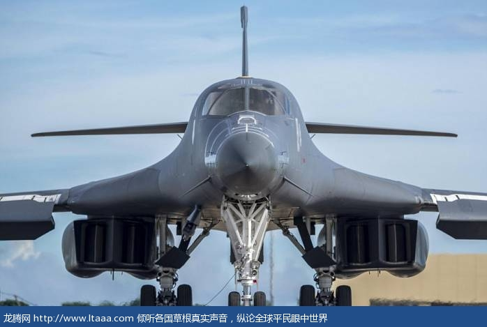 The exercise involved two US Air Force B-1B Lancer bombers flying from Andersen Air Force Base on Guam and two Japanese F-15 jet fighters