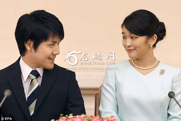Princess Mako (right) is engaged to Kei Komuro (left). But in Japan women are not allowed to succeed the throne meaning that when the pair both 25 tie the knot she will lose her status