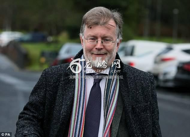 Professor Kennedy (pictured) told the hearing that he believed that at the time Mr Hawe carried out the murder-suicide he had progressed from long-term depression to a severe depressive episode with psychotic symptoms