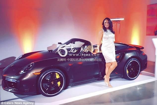 The singleton (pictured in front of a Porsche while on her date in New York) says she likes to be spoiled by the men she goes on dates with