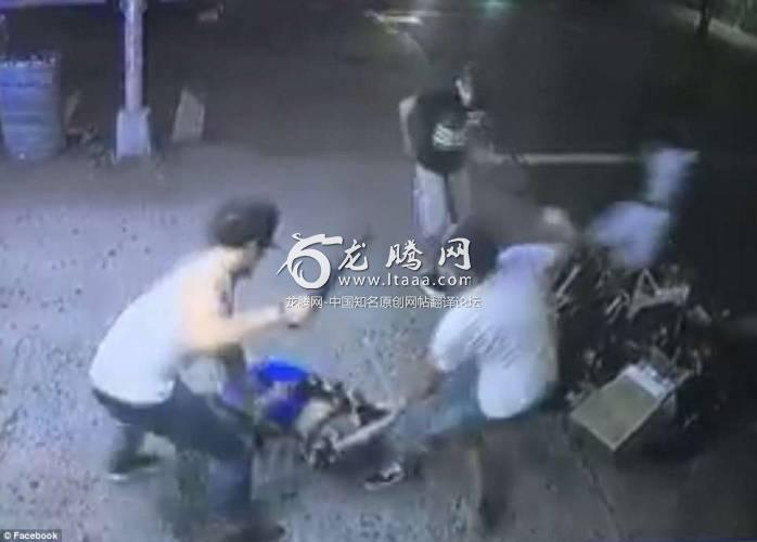 In a savage attack in the street the men used machetes to slash the teenager's body then left him for dead. He was able to run to a hospital nearby but he died afterwards