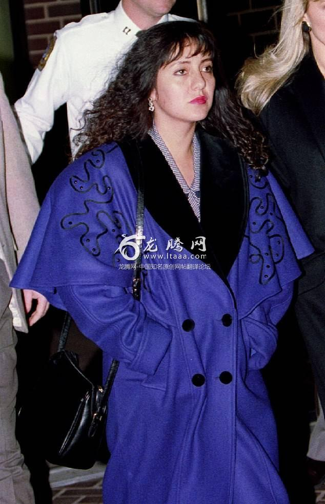 Lorena Bobbitt is seen leaving court in 1993. She severed her husband's penis as he slept claiming it was retaliation for physical and sexual abuse