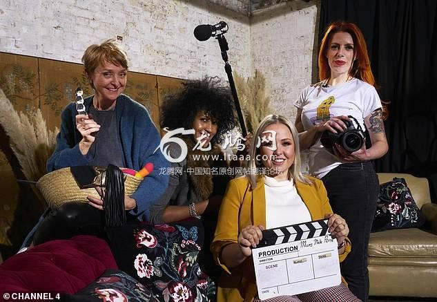 (From left) Emma, Anita, Sarah-Louise and Sarah all feature in the new Channel 4 documentary